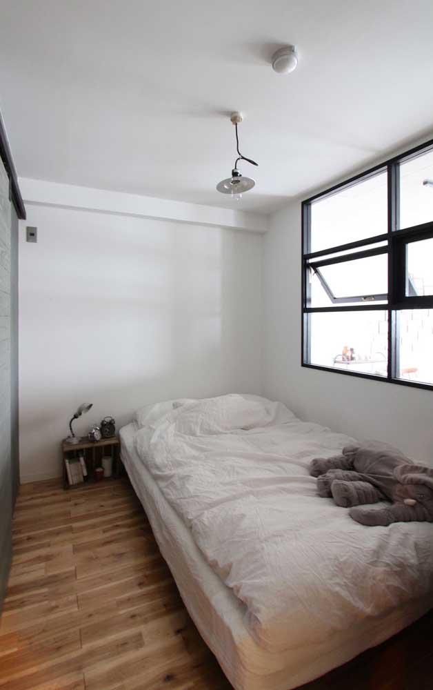 Janela de alumínio modelo maxim ares para o quarto; ventilação e luminosidade total