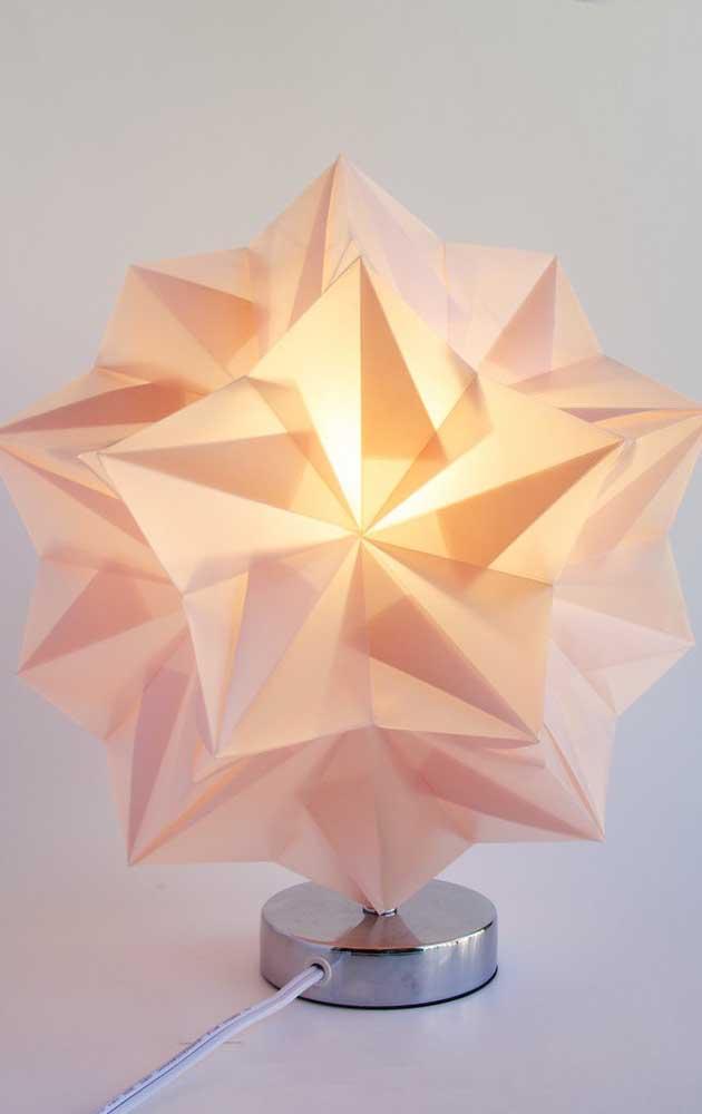Que lindo! O Kusudama se tornou uma luminária para o ambiente