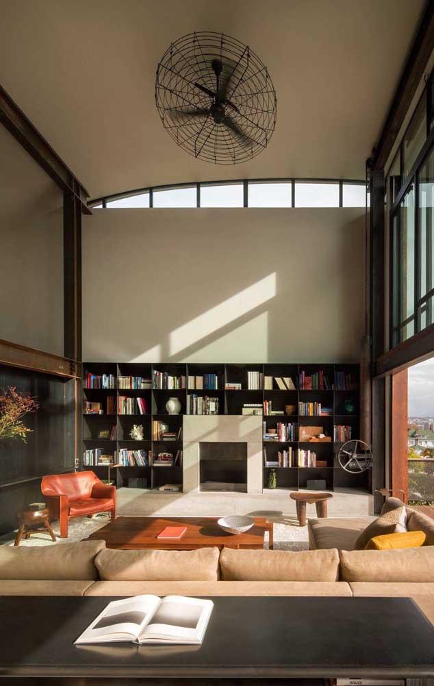 Olha mais uma ideia original e criativa de ventilador de teto