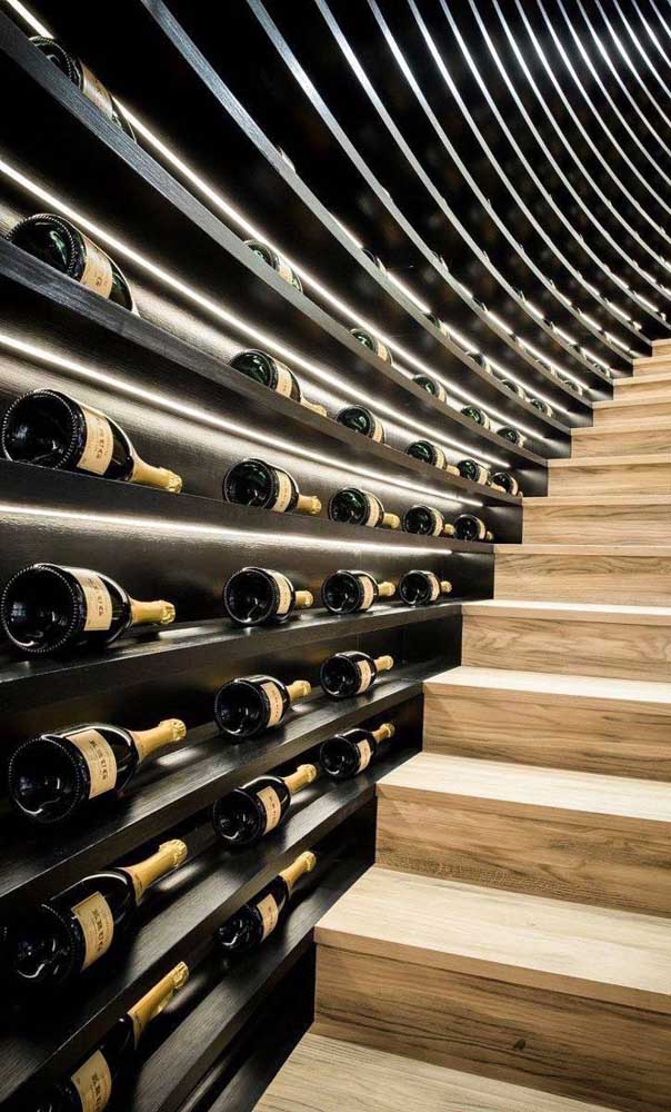 Uma visão espetacular para os amantes de vinho!