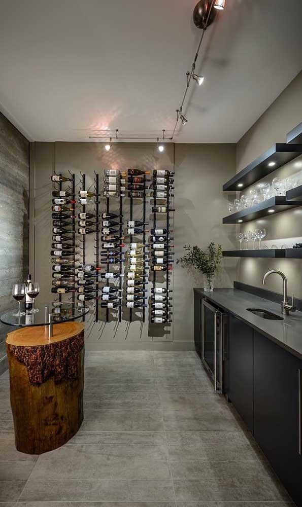 Um espaço para expor e apreciar as suas bebidas favoritas