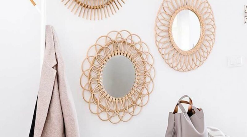 Moldura para espelho: 60 inspirações e como fazer passo a passo
