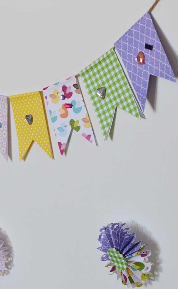 Pequenos detalhes para fazer toda a diferença nas bandeirinhas