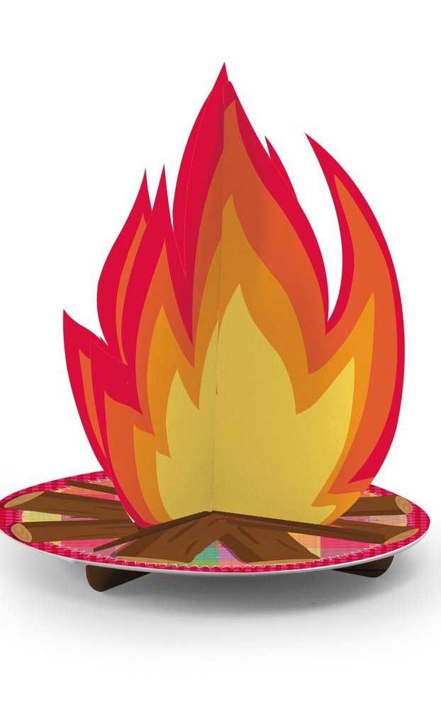 Seja de verdade ou de mentirinha, a fogueira não pode ficar de fora do seu arraiá