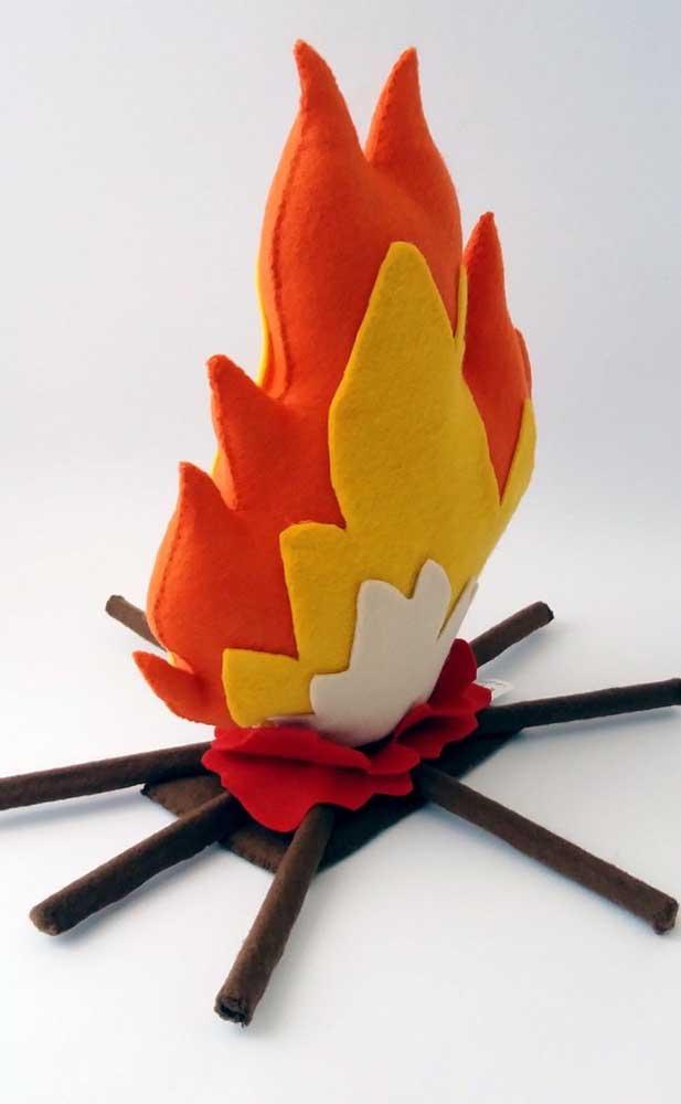 A fogueira de feltro já conquistou o seu coração?