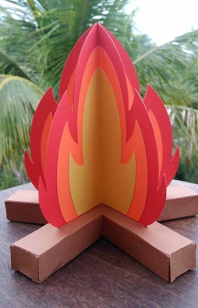 Uma fogueira que nunca se apaga