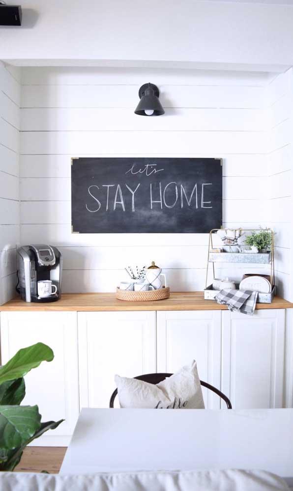 Um cantinho do café porque ficar em casa é bom demais!