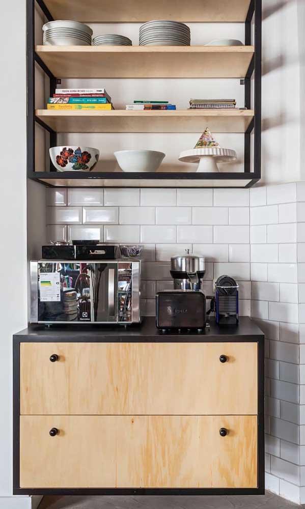 Faça um check list com tudo o que você gostaria que tivesse no seu cantinho do café e comece a montá-lo