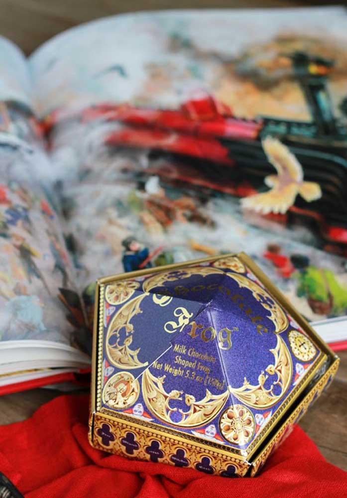 A lembrancinha Harry Potter pode ser uma caixinha mágica.