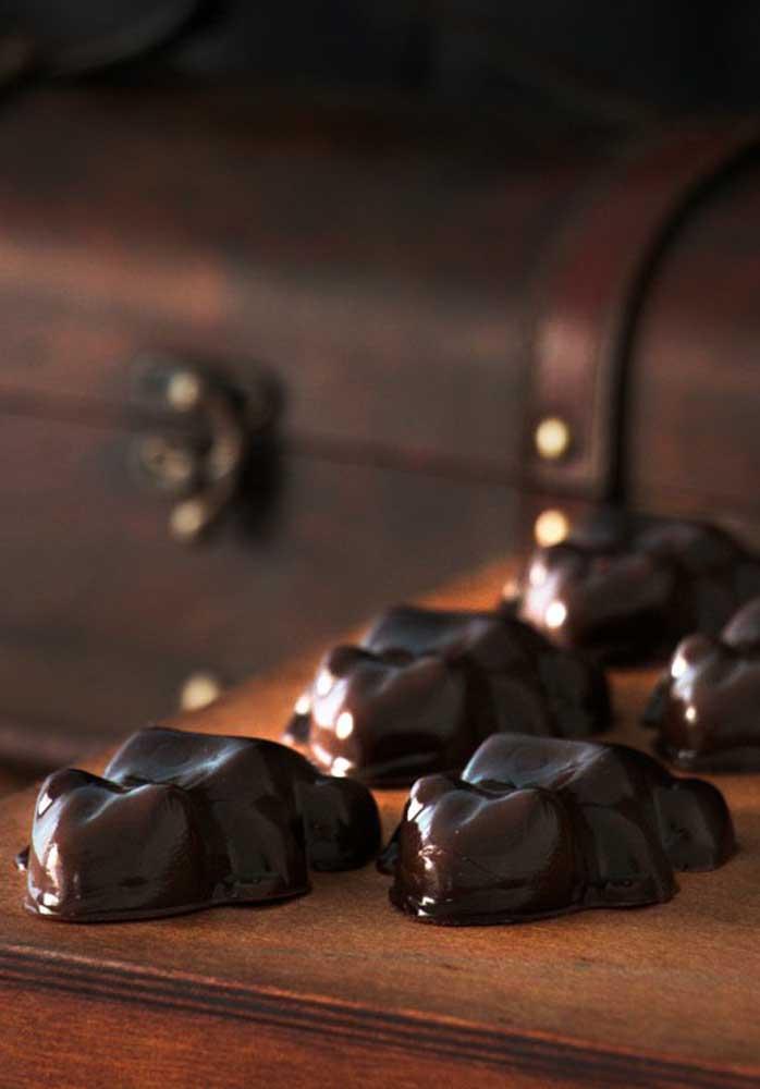 O que acha de preparar os doces no formato de bichinhos?