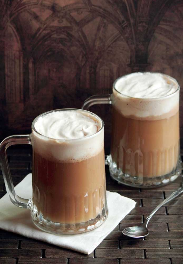 Que tal servir cappuccino para seus convidados?