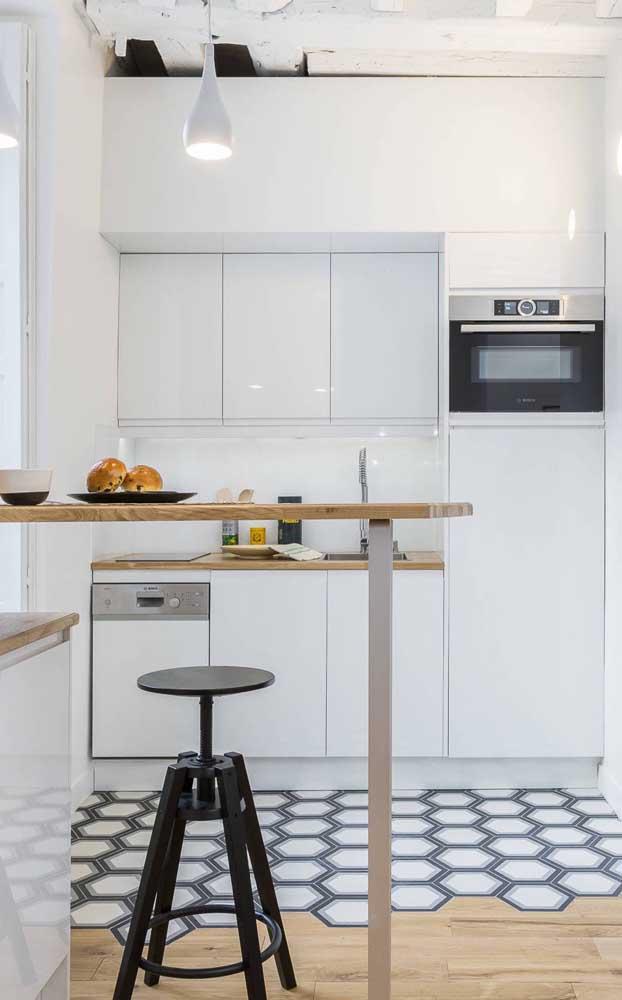 Um piso diferenciado para marcar o ambiente