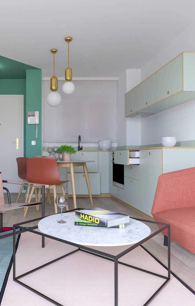 Cozinha compacta integrada aos demais ambientes da casa: mais do que bonita, o espaço precisa ser funcional e prático