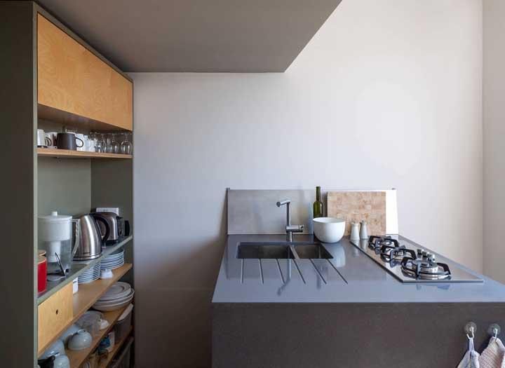 Cozinha compacta com cooktop: economize espaço na bancada com ele