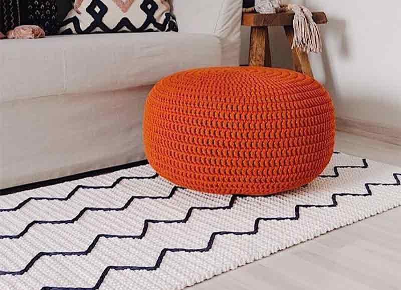 Tapete de crochê retangular: 60 modelos e como fazer passo a passo