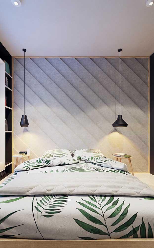 Pendentes para quarto em tamanhos diferentes: pode sim!