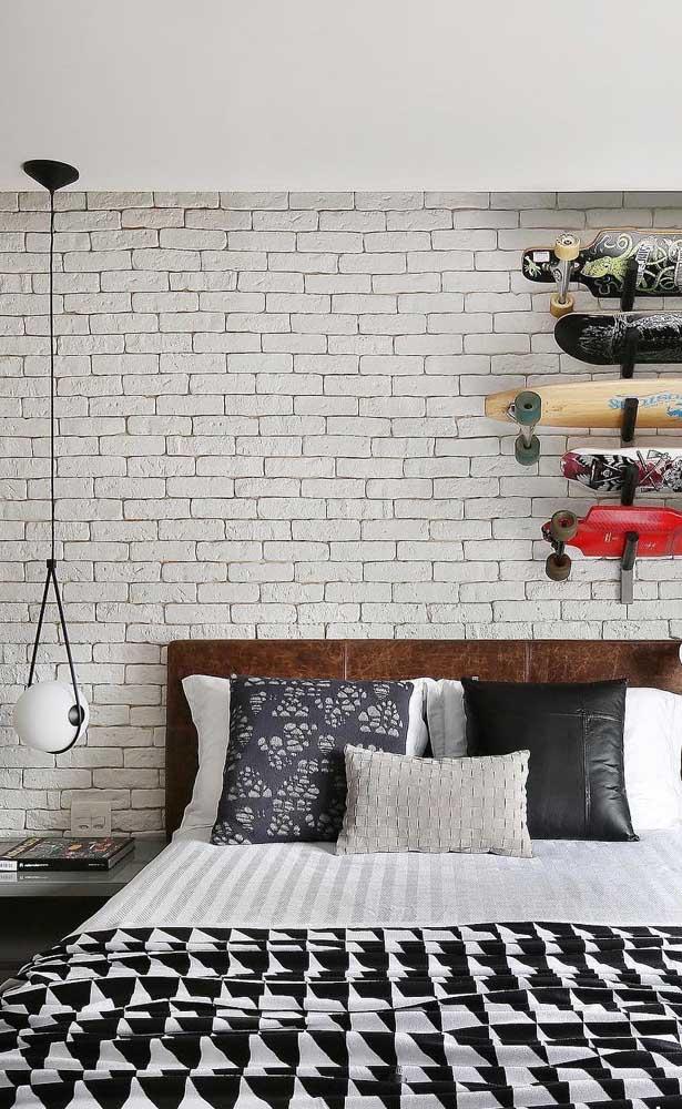 Combine o estilo do pendente com o estilo de decoração do quarto