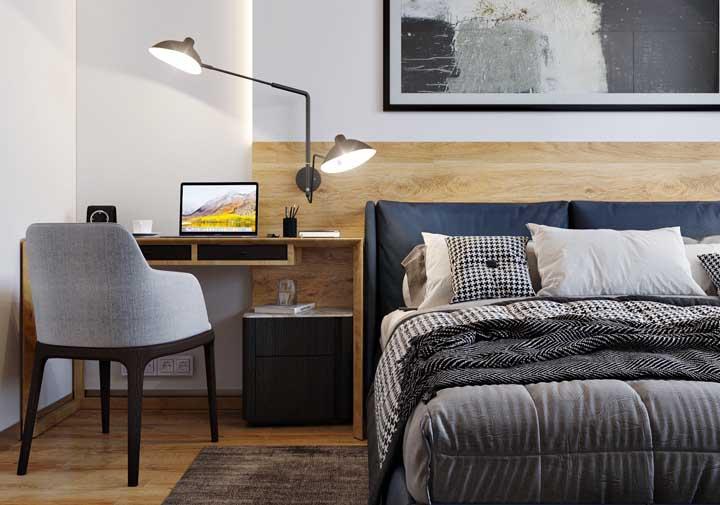 Luminária de mesa para criar um ambiente de estudo mais proveitoso