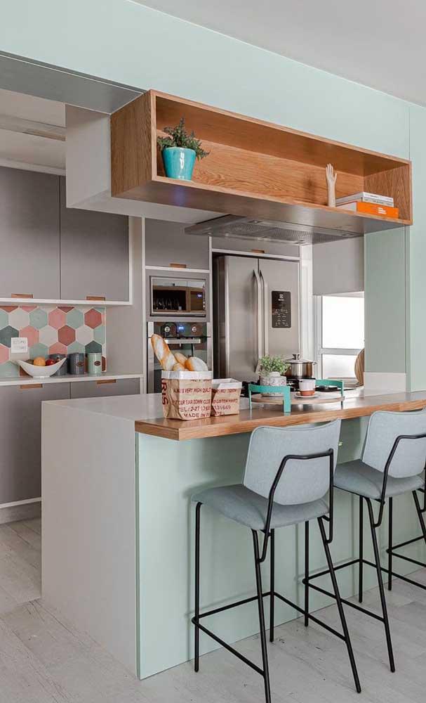 Integração é a palavra de ordem na cozinha americana planejada