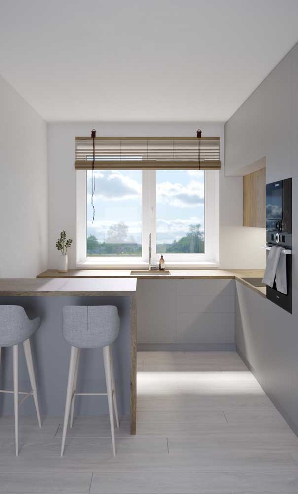 Clean, moderna, minimalista e super iluminada!