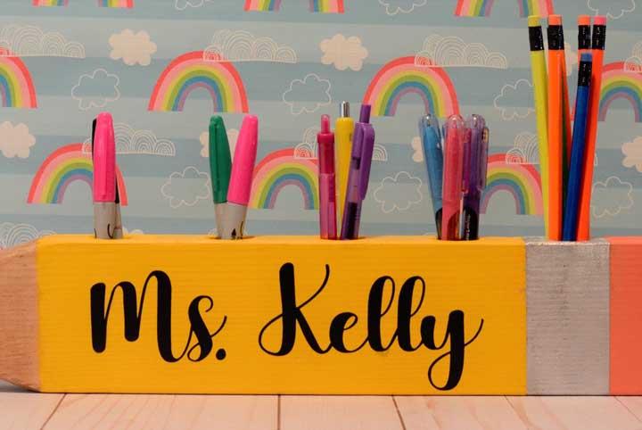 Lembrancinha Dia dos Professores: como fazer, tutoriais e fotos inspiradoras