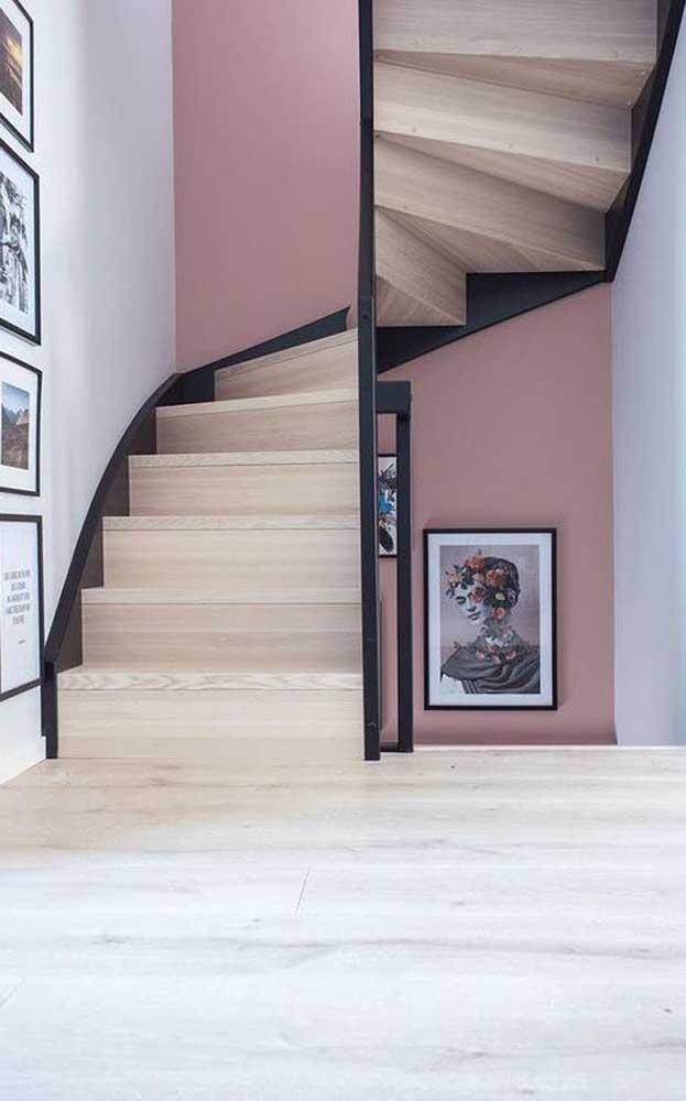Um novo olhar para um estilo bem conhecido de escada: o caracol