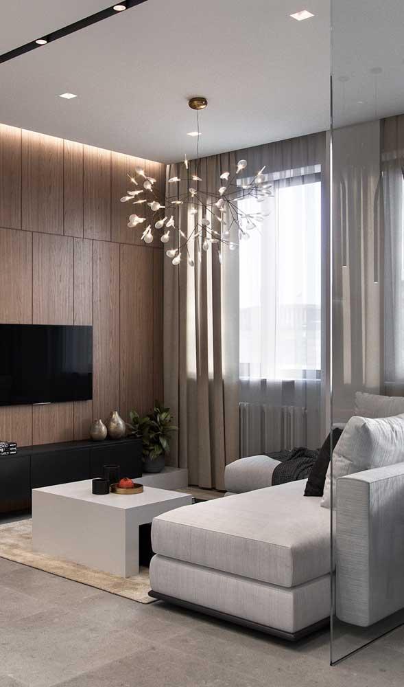 Que tal agora dar uma atenção especial ao lustre ou luminária da sua sala?