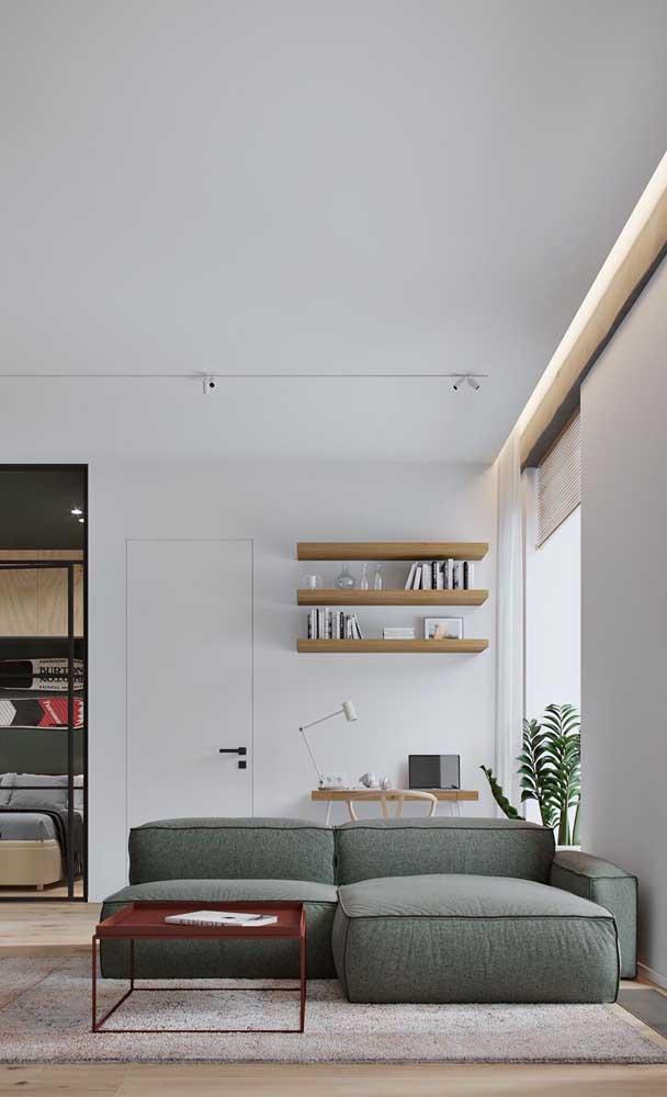 Um tapete para cobrir toda a área da sala