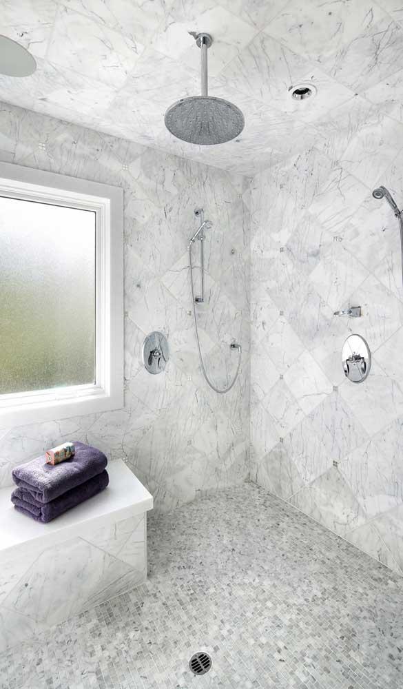 Vitrô maxi-ar de alumínio branco para o banheiro