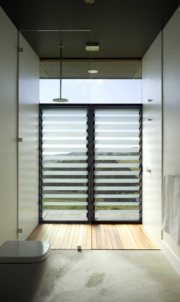 Ventilação total nesse modelo de janela de alumínio