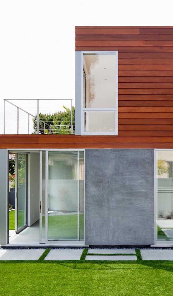 Tire proveito das possibilidades do alumínio para combinar o design de portas e janelas