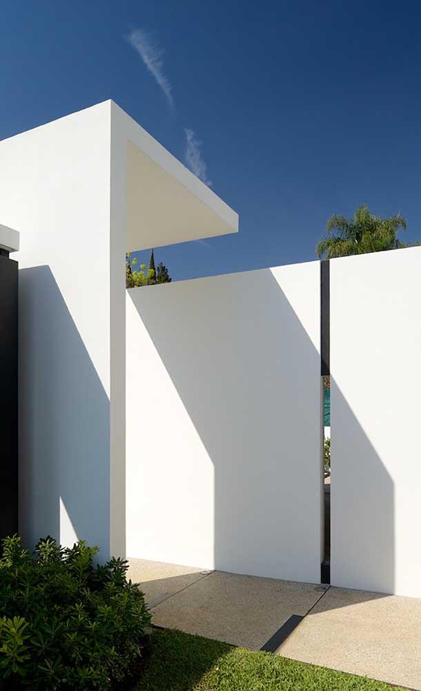 Moderno, clean e super minimalista