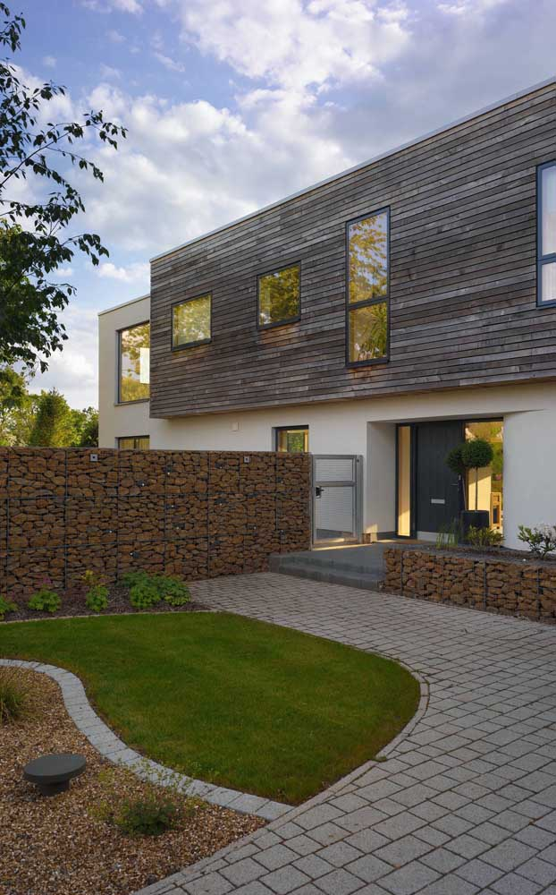 Olha os gambiões de pedra aí de novo! Desfilando seu charme moderno e arrojado na vizinhança!