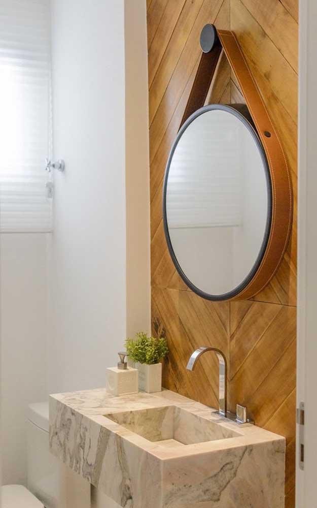 Espelho Adnet para o banheiro: funcionalidade com muito estilo