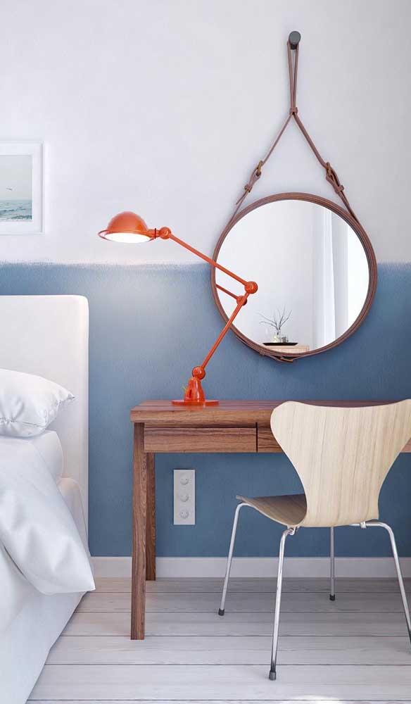 Espelho Adnet para a penteadeira do quarto do casal