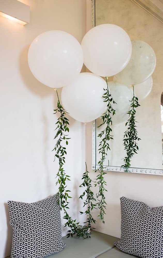 Os balões são grandes aliados de festas bonitas e baratas