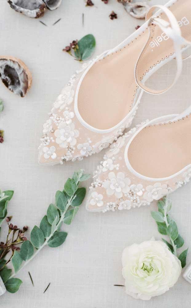 O sapato da dona da festa ganhou uma atenção especial também!