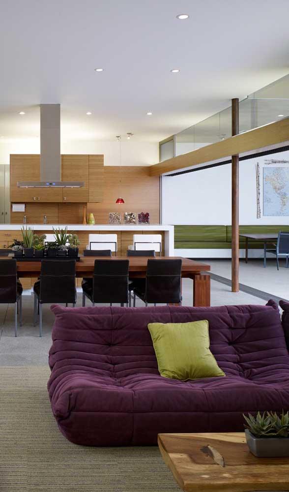 Quer sofá mais confortável do que esse?