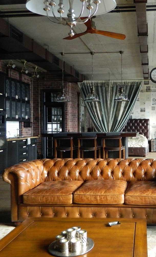 Um clássico que habita perfeitamente bem ambientes modernos e descolados