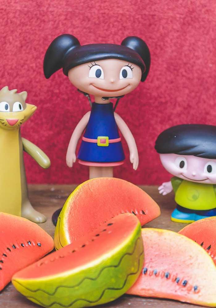 No aniversário Show da Luna você pode fazer os personagens com biscuit.
