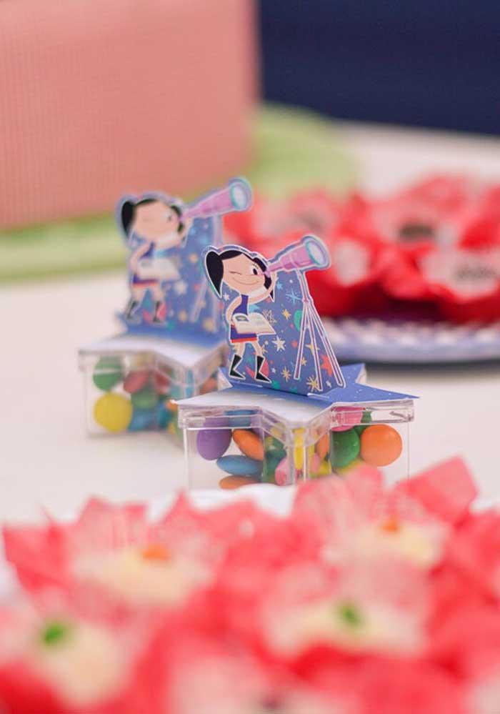 A Luna deve ser a personagem principal da festa com o tema Show da Luna.