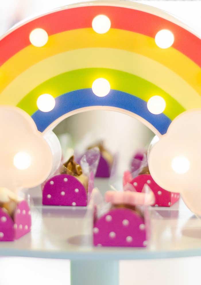 Use a abuse das cores principais do tema Show da Luna na hora de decorar o ambiente.