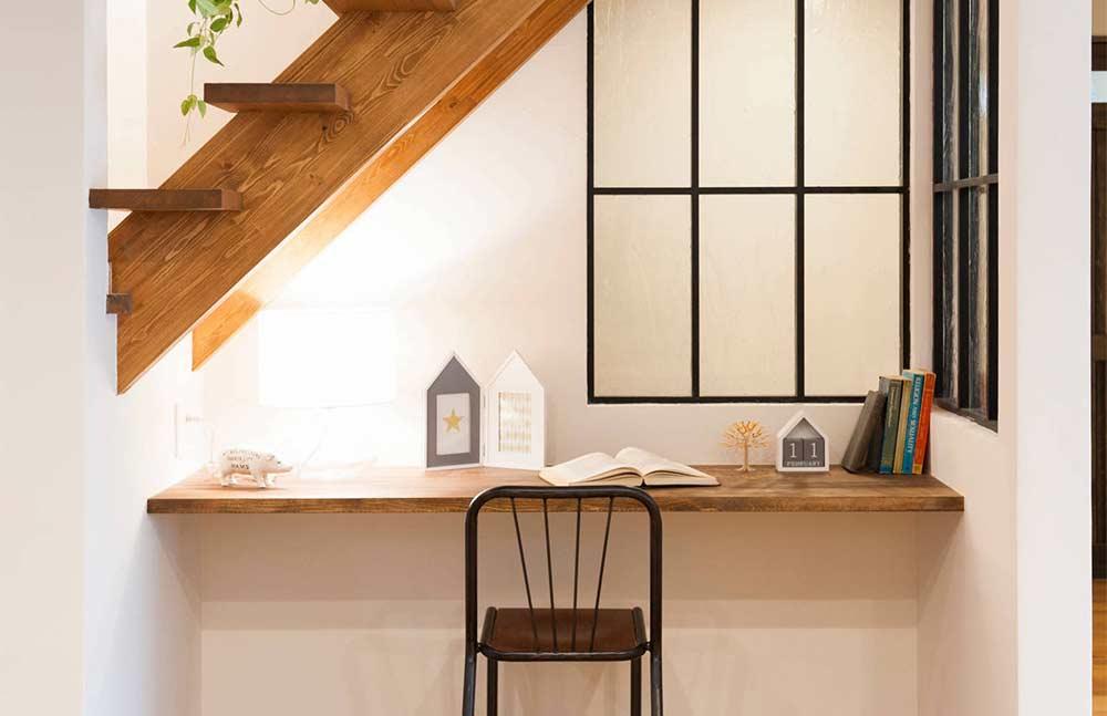 Escrivaninha suspensa: vantagens, como fazer e inspirações