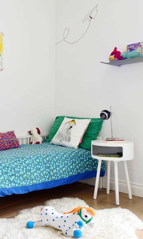 Criado-mudo para o quarto infantil: praticidade para as crianças também