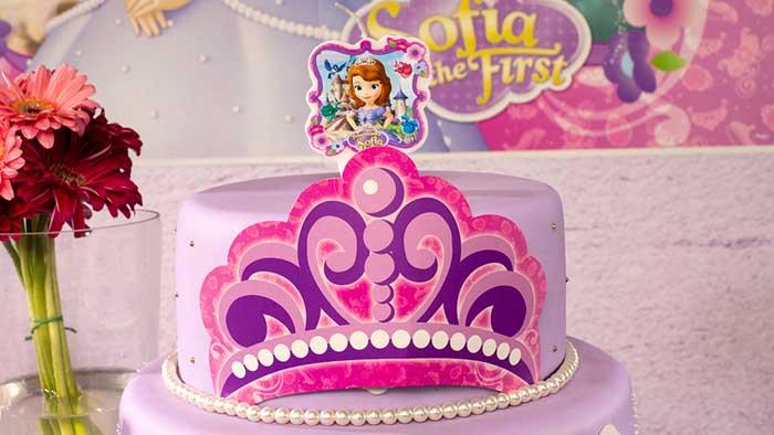 Festa Princesa Sofia: 75 ideias de decoração e fotos do tema
