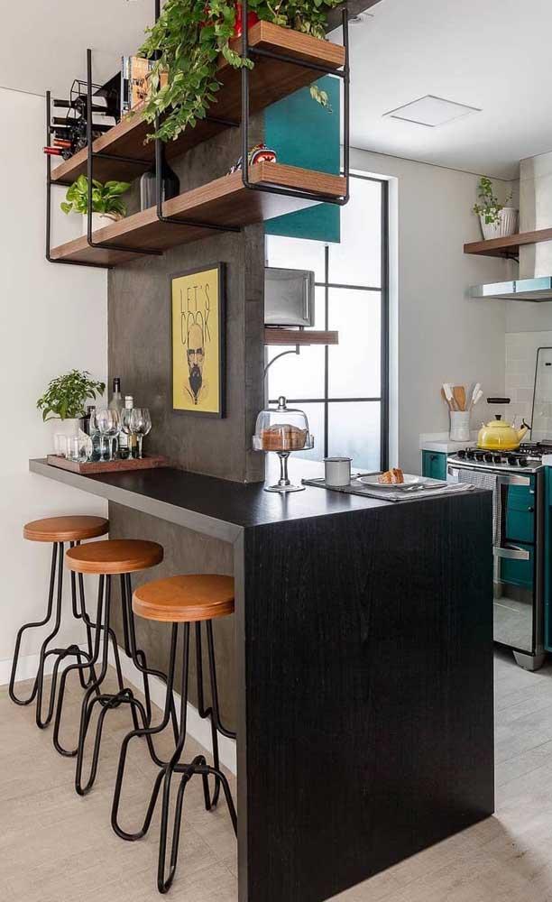 Divisória de gesso entre a cozinha e a sala de estar: opção prática, rápida e barata para mudar a cara do ambiente