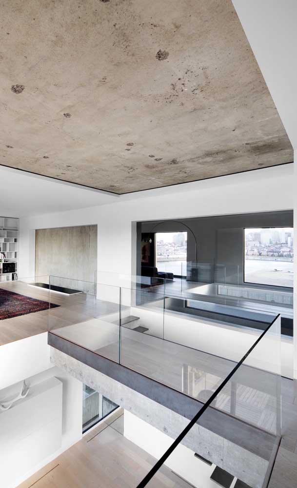 O gesso sempre imprime uma atmosfera elegante para os ambientes, graças ao seu acabamento impecável