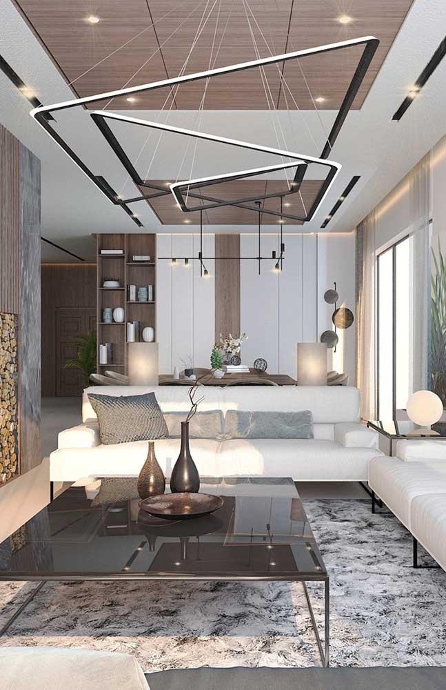 Se você tem um projeto arrojado de iluminação para sua casa pode ter certeza: o gesso acartonado vai estar presente