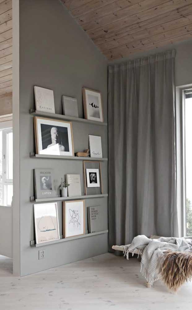 Aposte na parede de gesso para delimitar os ambientes da casa