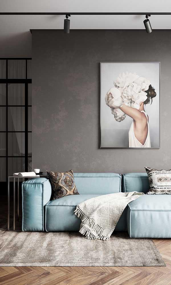 Aplique a cor e a textura que desejar na sua parede de gesso